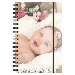 agenda-spiralata-2021-cute-babies-giornaliera-11x165-cm
