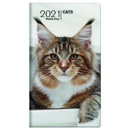 agenda-settimanale-2021-cats-copertina-morbida-8x14-cm