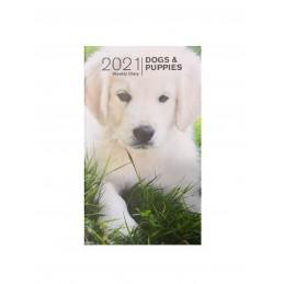 agenda-settimanale-2021-dogs--puppies-copertina-morbida-8x14-cm