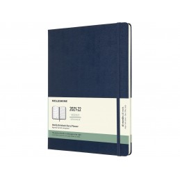 18-months-eekly-notebook-extralarge-hard-cover-sapphire-blue