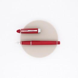 penna-aurora-ipsilon-deluxe-stilografica-rossa