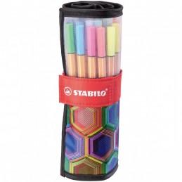 fineliner--stabilo-point-88--rollerset-con-25-colori-assortiti--arty-edition