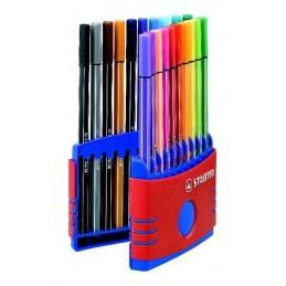 stabilo-pennarello-in-fibra-stabilo-pen-68-colorparade-682004-assortito-vari-colori-1-mm