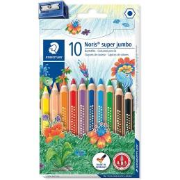 staedtler-farveblyant-noris-cl-ub-super-jumbo-ass-10-stk
