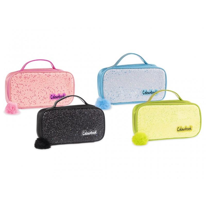 cutie-case-colourbook--valigetta-portaoggetti-con-chiusura-a-zip-con-pompon--4-colori