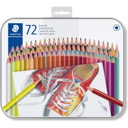 set-matite-colorate-esagonali-in-scatola-di-metallo-72pz-staedtler-175-m72