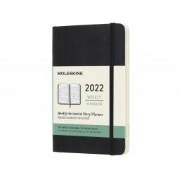 agenda-2022-settimanale-orizzontale-12-mesi-pocket-9x14cm-copertina-morbida-nera