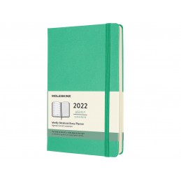 12-months-eekly-notebook-large-hard-cover-ice-green