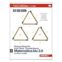 MATEMATICA BLU 2.0 4 +EBOOK