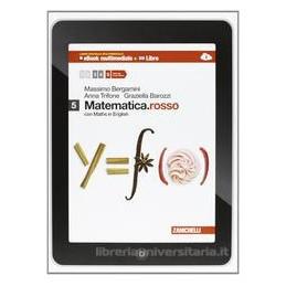 MATEMATICA ROSSO 5 +EBOOK