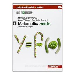 MATEMATICA VERDE 4 CON MATH IN ENGLISH +EBOOK