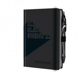 agenda-smemo-2022-all-black-giornaliera-12x165cm-12-mesi
