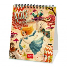 calendario-da-tavolo-2022-fomrato-12x-145cm-alice-in-onderland