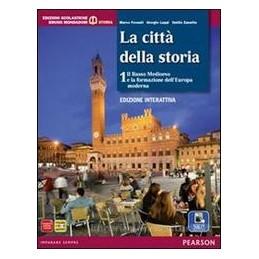 CITTÀ DELLA STORIA 1 +ATLANTE ED.INTERAT