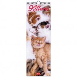 calendario-da-parete-2022-formato-16x49cm-kittens