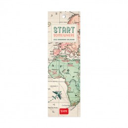 calendario-segnalibro-2022-formato-55x18cm-start-somehere