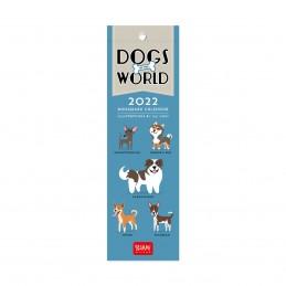 calendario-segnalibro-2022-formato-55x18cm-dogs