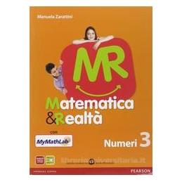 MR MATEMATICA & REALTÀ 3 +MYMATHLAB