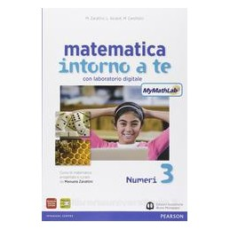 MATEMATICA INTORNO A TE 3 +MYMATHLAB +QU
