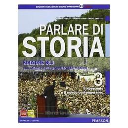 PARLARE DI STORIA EDIZ.BLU 3 +ATLANTE