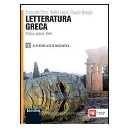 LETTERATURA GRECA 3  PLATONE ETÀ TARDOAN