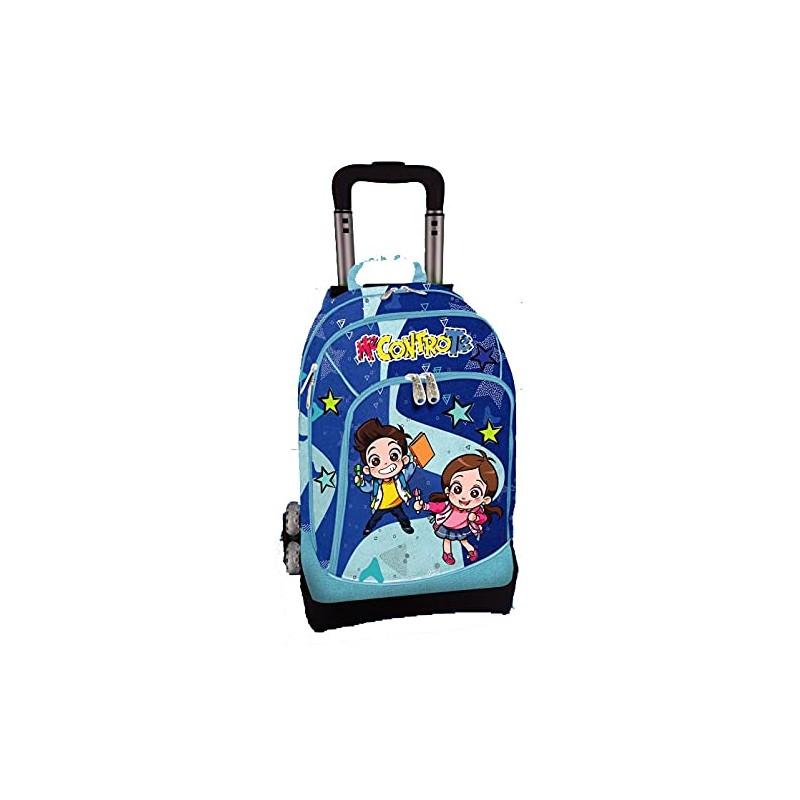 poolover-trolley-scuola-staccabile-glitterato-blu-me-contro-te
