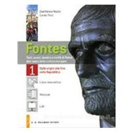 FONTES 1  ORIGINI FINE REPUBBLICA