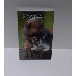 agenda-2022-cute-animals-giornaliera-copertina-rigida-95x13-cm