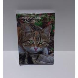 agenda-2022-cats-giornaliera-copertina-rigida-95x13-cm