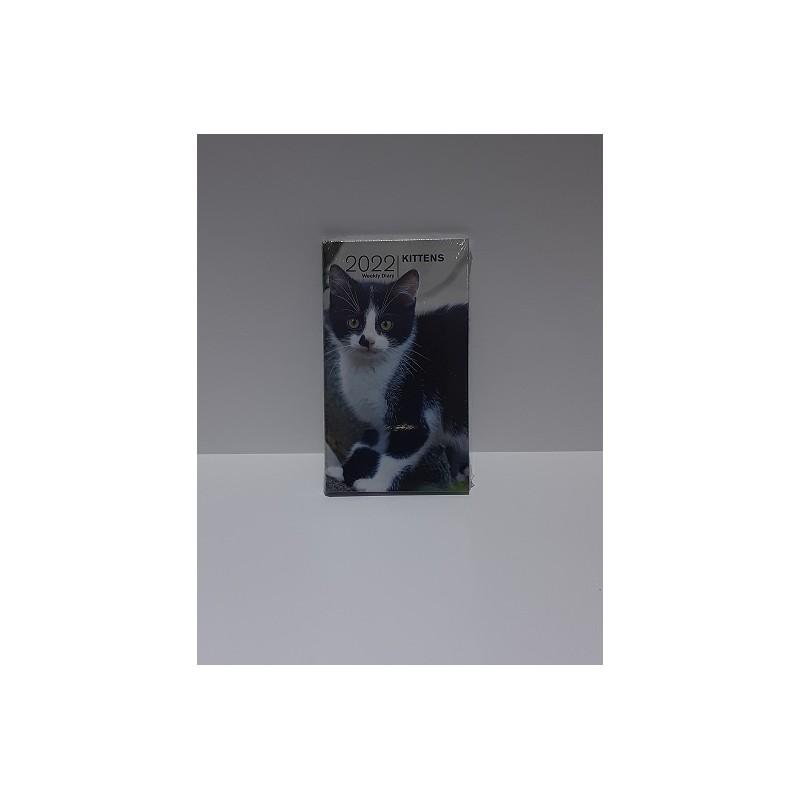 agenda-2022-kittens-settimanale-copertina-rigida-8x145-cm