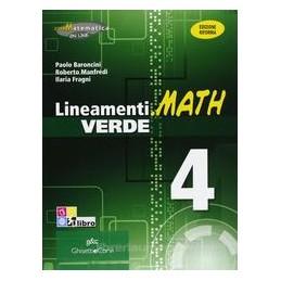 LINEAMENTI.MATH VERDE 4 X 4 IT