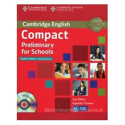 COMPACT PRELIMINARY FOR SCHOOLS, SB +CD