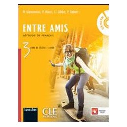 ENTRE AMIS 3 +CAHIER 3 +LIBROLIM
