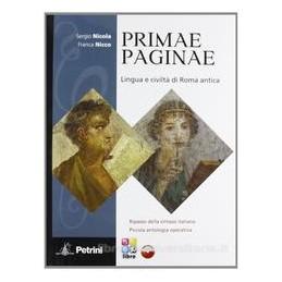 PRIMAE PAGINAE +VOCAB.+LIB.DIG.