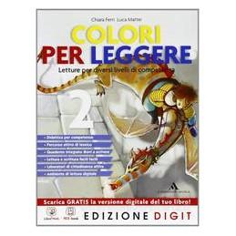 COLORI PER LEGGERE 2 +LETT.+QUAD.+RISORS