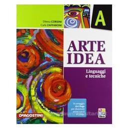 ARTE IDEA (A+B+C) +LIBRO DIGITALE