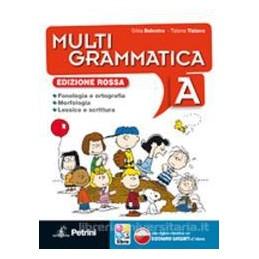 MULTIGRAMMATICA ED.ROSSA (A+B) +LIB.DIG.