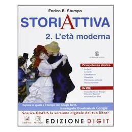 STORIA ATTIVA 2 +RISORSE DIGITALI