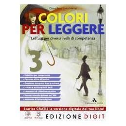 COLORI PER LEGGERE 3 +QUAD.COMP.+RIS.DIG