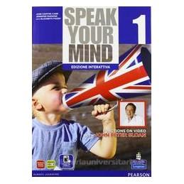 SPEAK YOUR MIND 1 SB & WB +ITE