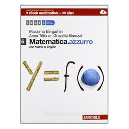 MATEMATICA AZZURRO 5 +EBOOK