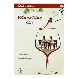 WINE&DINE CLUB +CD X 3,4