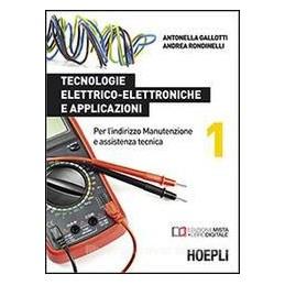 TECNOLOGIE ELETTRICO ELETTRON.E APPLIC.1