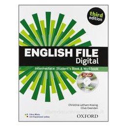 ENGLISH FILE DIGITAL INTERMEDIATE +WB