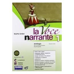 VOCE NARRANTE 1 +LAB.+MITO EPICA+E BOOK