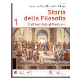 STORIA DELLA FILOSOFIA 1  ANTIC. MEDIOEV
