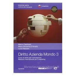 DIRITTO AZIENDA MONDO 3 SET   EDIZIONE M