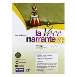VOCE NARRANTE 3 +LAB.+E BOOK
