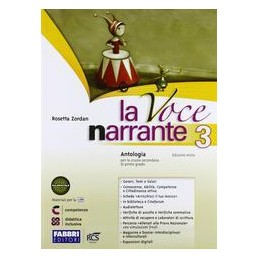 VOCE NARRANTE 3 +LAB.+E BOOK