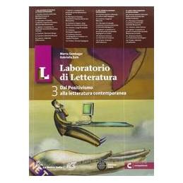 LL LABORATORIO DI LETTERATURA 3+GUIDA+OB
